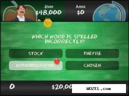 Are You Smarter Than a 5th Grader: Make the Grade (2008/Wii/ENG). Скриншот №3