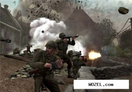 Call of Duty 3 (2006/PS2/RUS). Скриншот №2