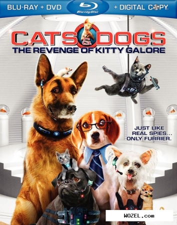 Кoшки против собак: месть китти галор / cats & dogs: the revenge of kitty galore (2010) hdrip | лицензия